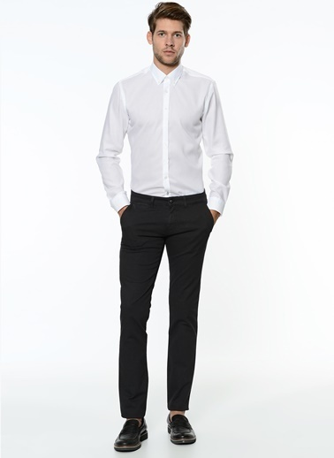 George Hogg Slim Fit Chino Pantolon Antrasit